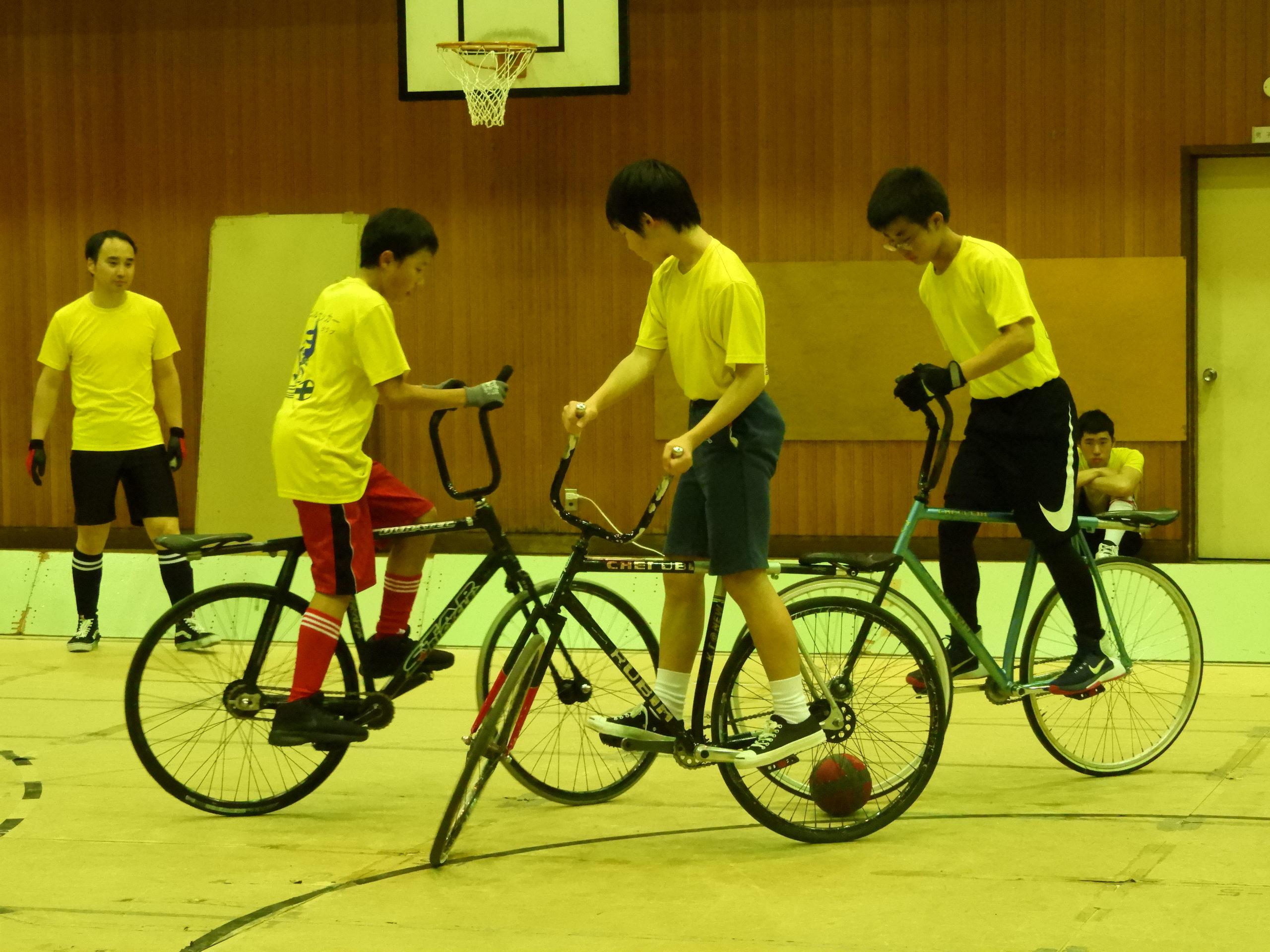 室内自転車競技